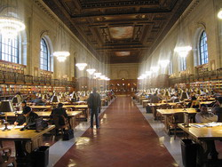 New York Public Library - By Victoria Peckam