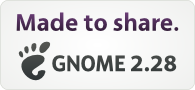 Made to share. Gnome 2.28 released!